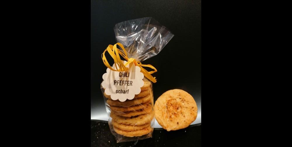 Stollenkäse Cracker Chili Pfeffer ca.120g