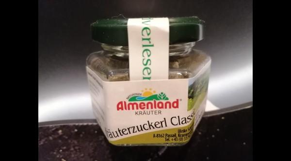 Almenland Zuckerl Glas Kräuter 60g
