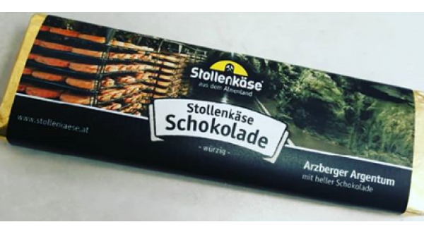 Stollenkäse Schokolade  Argentum